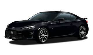 Toyota FT 86 Warna Crystal Black Silica