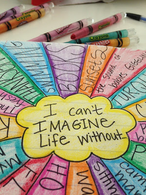 Writing from Lists: I Can't Imagine Life Without...
