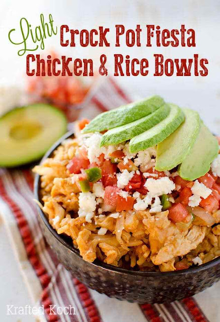 chicken and rice made in crock pot