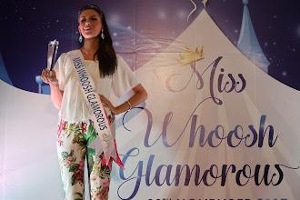 Miss Netherlands dinobatkan sebagai Miss Whoosh Glamorous 2017