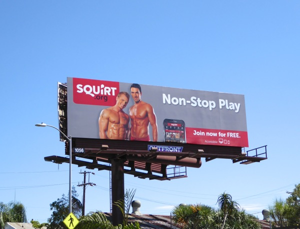 Daily Billboard: Dating websites and hookup app billboards keeping