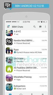 BBM Mod Iphone Versi 2.11.0.18 (iBBM)