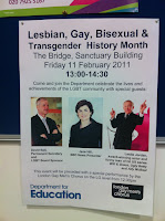 Internal poster for the event at the DfE