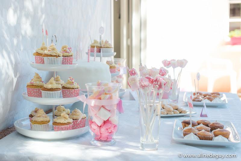 Bien-aimé Décoration anniversaire Rose et Blanc - Le Candy Bar FV96