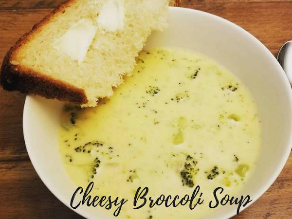 Cozy Comfort In a Bowl: Cheesy Broccoli Soup #Recipe