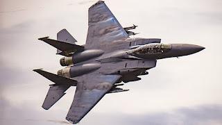 Jet F-15 USAF