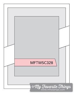 Sketch Challenge 328 #mftstamps