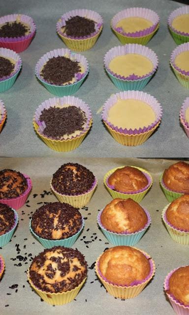 Baked Alaska Cupcake, receta paso a paso y con fotografías