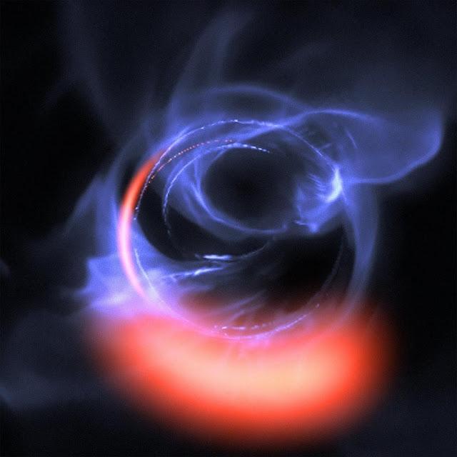 o buraco negro central da Via Láctea