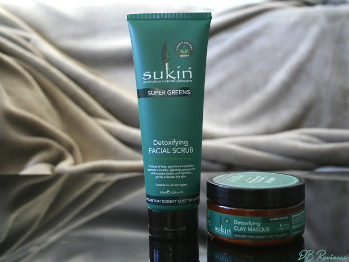 Sukin's Super Greens Range