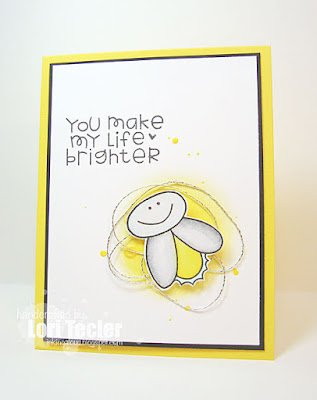 You Make My Life Brighter card-designed by Lori Tecler/Inking Aloud-stamps from Paper Smooches