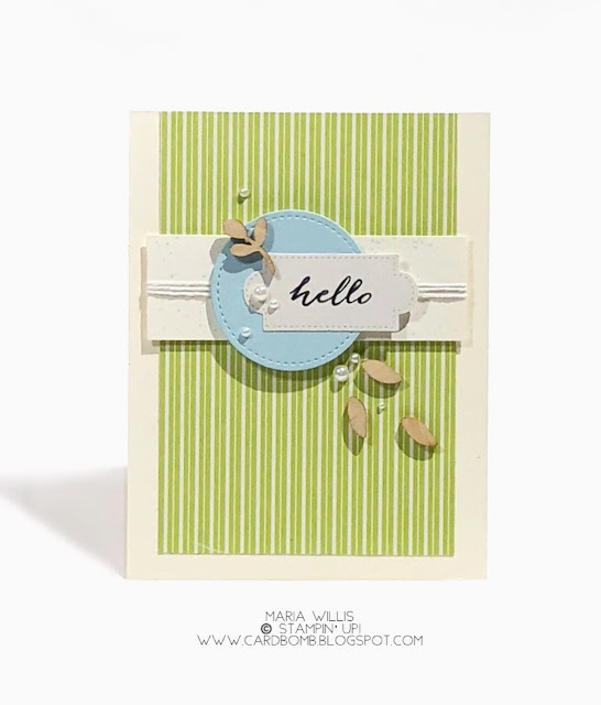 #cardbomb, march 2018 paper pumpkin, card, wooden embellishments, paper craft, craft, creative, Stampin' Up!, Maria Willis, stamping, ink, paper,
