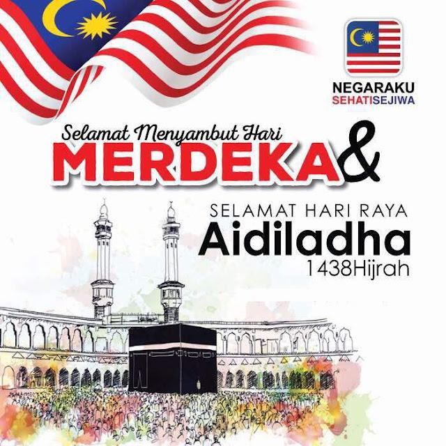 Selamat Hari Merdeka & Aidil Adha