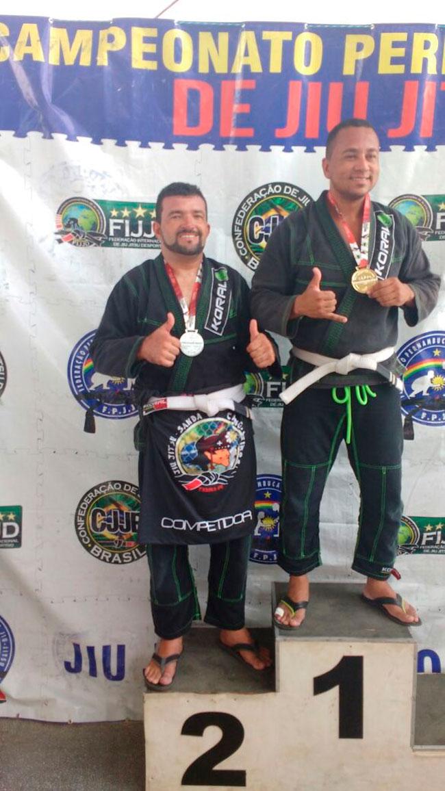 Jorge Soares: Vice-campeão na categoria adulto pesado faixa branca