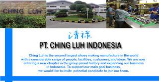 Lowongan Kerja Operator Produksi PT Victory Cingluh Indonesia Tangerang