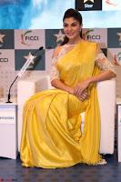 Gorgeous Jacqueline Fernandez  in yellow saree 47.JPG