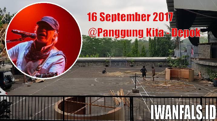 Konser Iwan Fals 16 September 2017 Depok