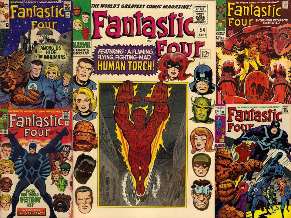 Dave's Comic Heroes Blog: Why Marvel Needs the Fantastic Four