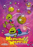 Martina y Marcial, pareja espacial