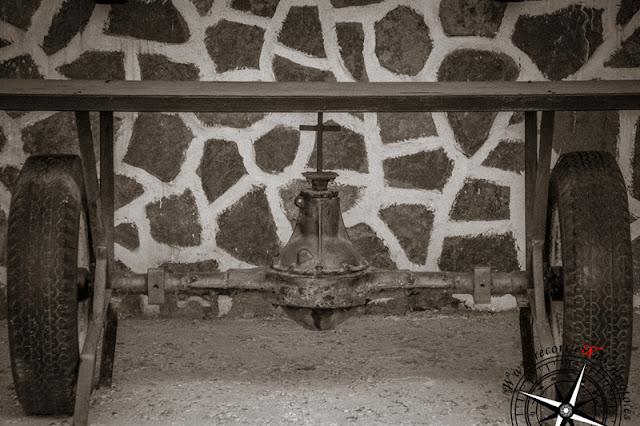 Detalles de la Gasolinera Espiritual de Villarrubio
