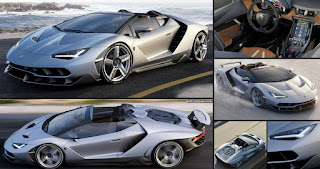 2016 Lamborghini Centenario Roadster All Angle Picture