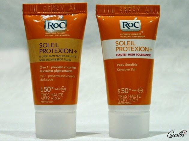 RoC SOLEIL PROTEXION+ muestras