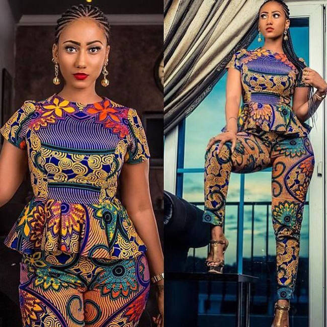 ankara tops and jackets