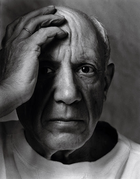 By Arnold Newman Picasso