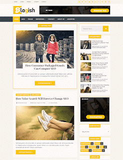 Blogish Style Blogger Template