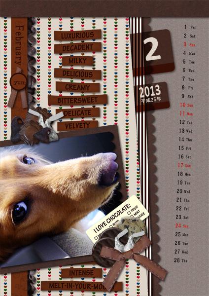 DSB  Calendar 2013-02