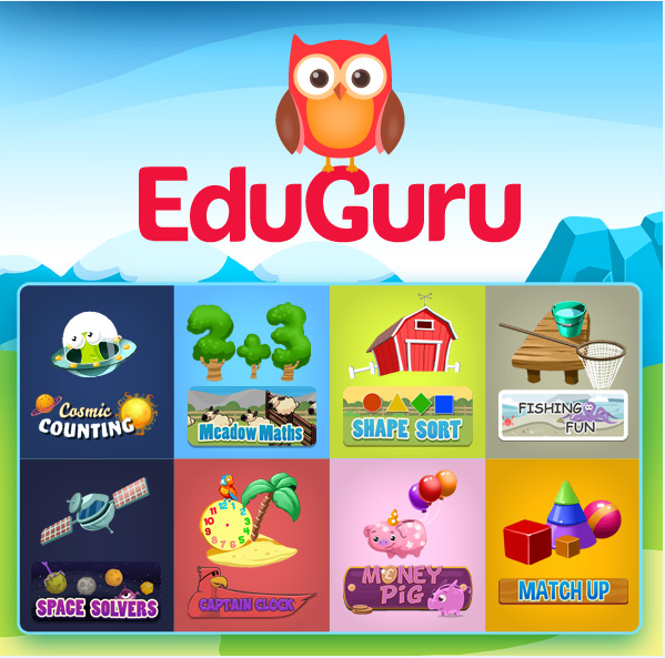 EduGuru Maths - Fun Learning Math App for Kids