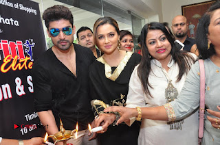 Bollywood Actress Sana Khan Launches Aakrithi Exibition  0289.JPG