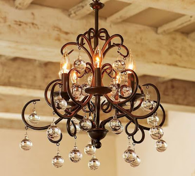 I Copied The Bellora Chandelier Pottery Barn Makeover