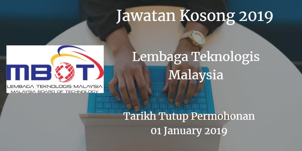 Jawatan Kosong MBOT 01 January 2019