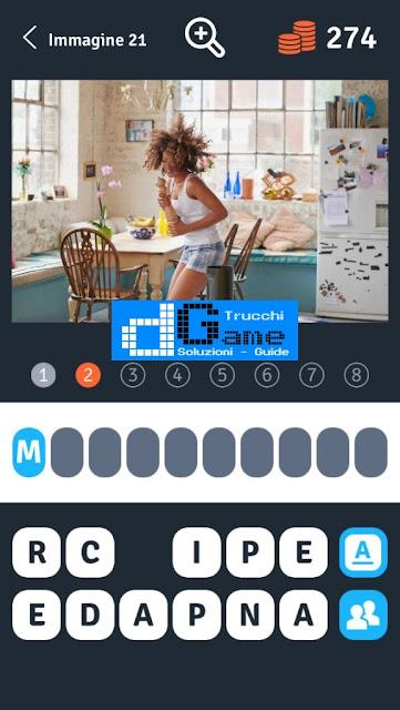 Soluzioni 1 Immagine 8 Parole soluzione livello 21-30