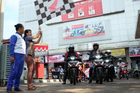 Touring New Honda Supra GTR 150 Jelajah Kota Lahat