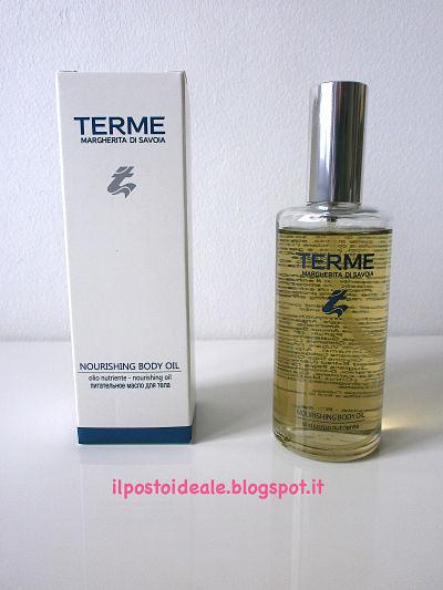 Terme Margherita di Savoia Nourishing Body Oil