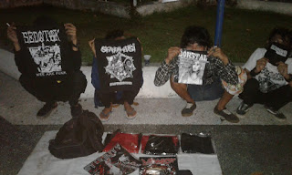 Anak Punk Mataram Jualan, Hilangkan Stigma Negatif Masyarakat