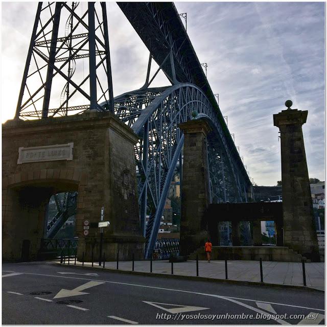 Ponte Luis I, nivel inferior