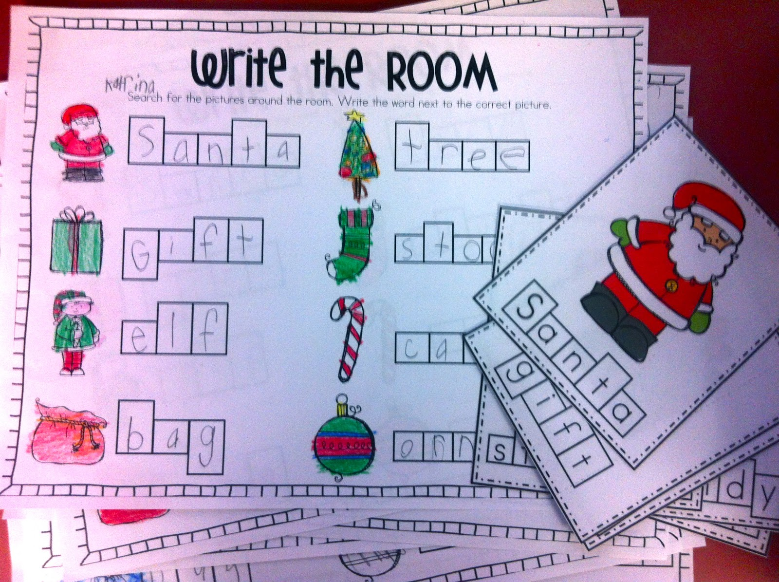 Merry Christmas Writing Ideas.Fun With Firsties Merry Christmas