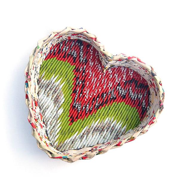 koszyk serce