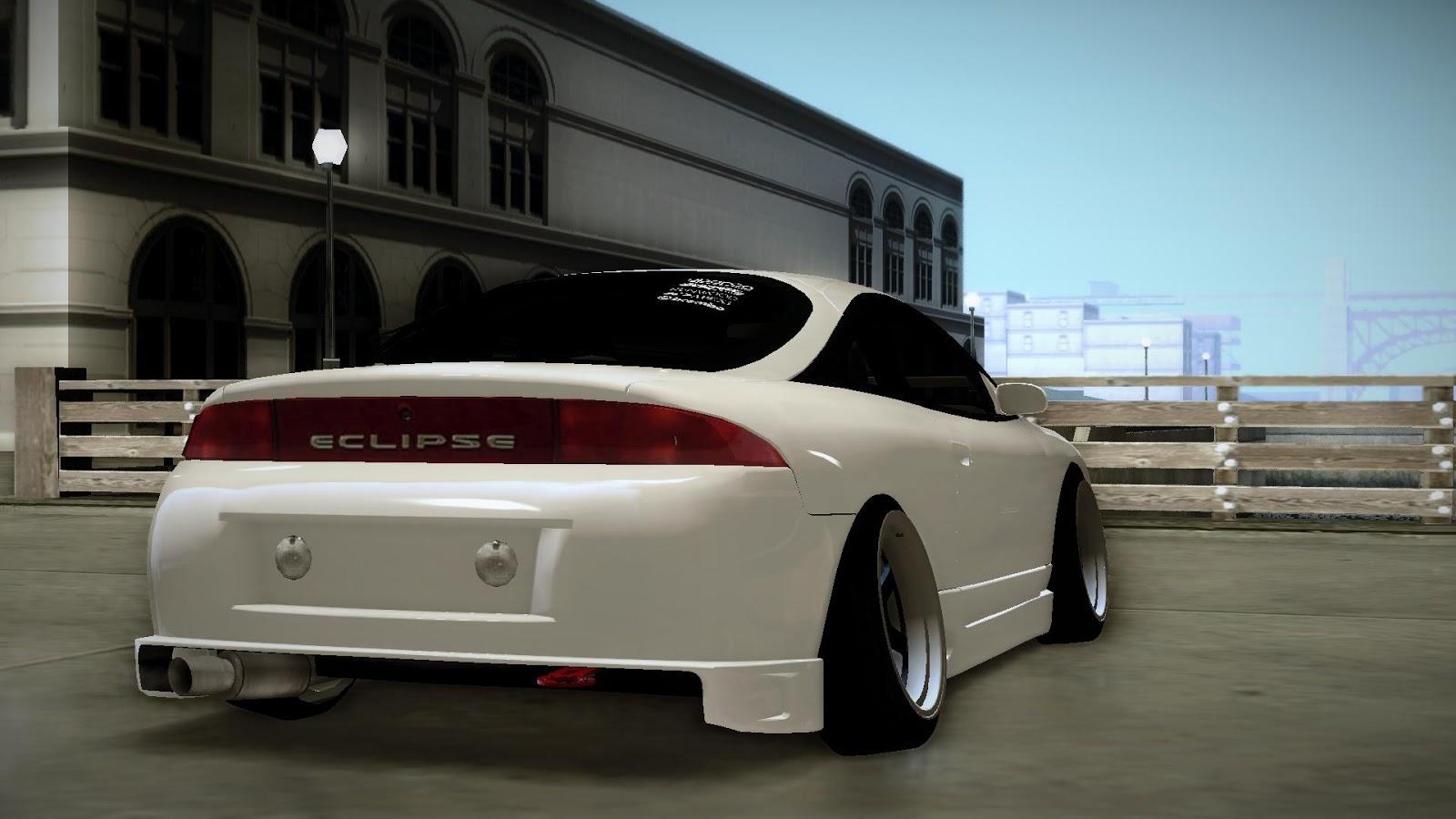 Mitsubishi Eclipse on Jdm Honda Civic 4 Door