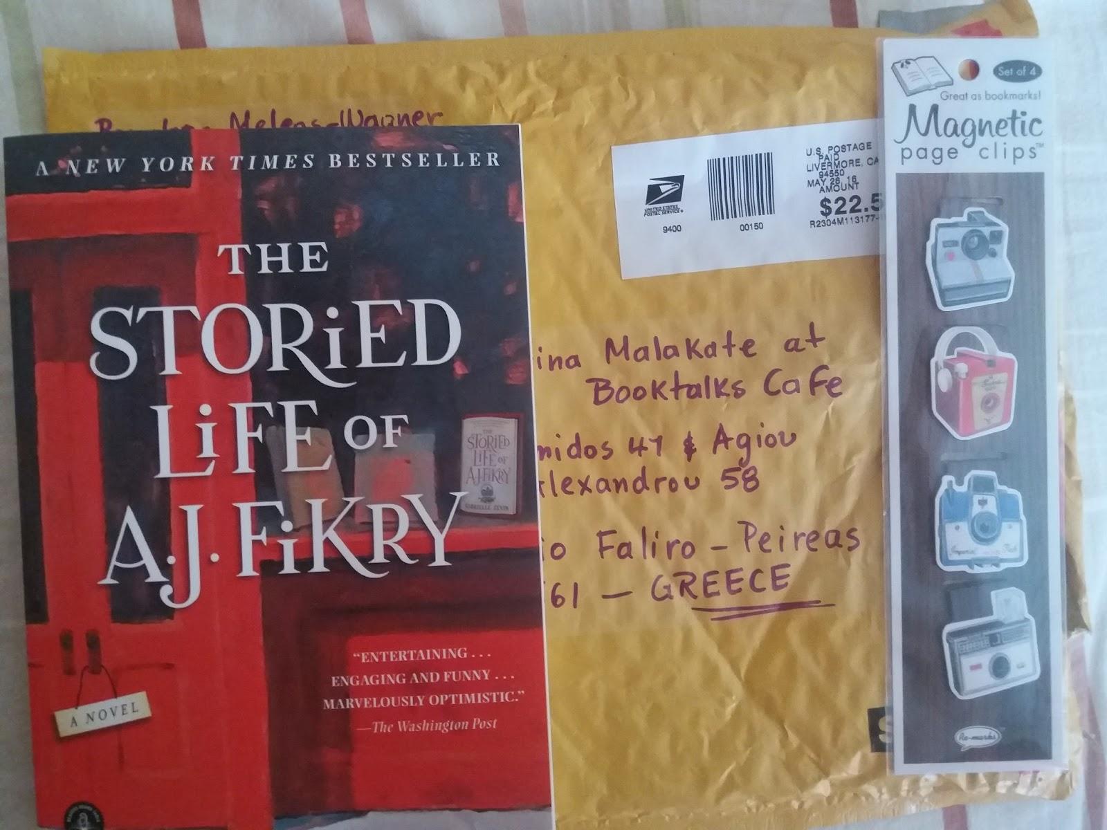 Ένα εξαιρετικά ευχάριστο βιβλιοβιβλίο είναι το The storied life of A.J  Fikry a2565ef778d