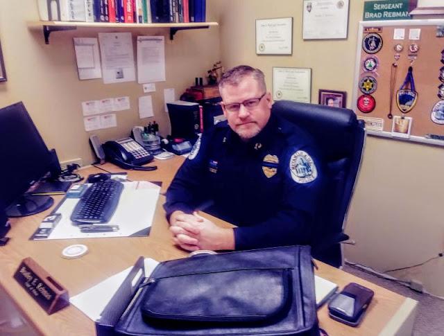 Meet Chief Rebman, Metamora Herald