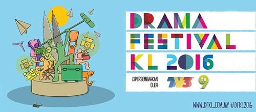 Pemenang anugerah Drama Festival KL 2016, keputusan pemenang Anugerah Drama Festival Kuala Lumpur, DFKL 2016, gambar Anugerah Drama Festival KL 2016, senarai artis dan drama menang Anugerah Festival KL 2016, drama terbaik tahun 2016