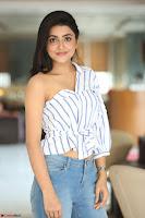 Avantika Mishra in One Shoulder Crop Top and Denim Jeggings ~  Exclusive 062.JPG