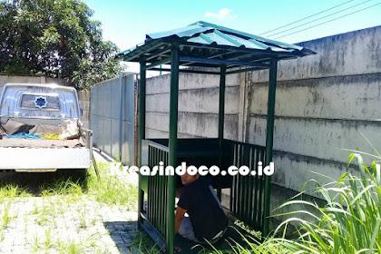 Pesanan Pos Jaga Satpam Pt Multi Mitra Sakti Bsd Tangerang