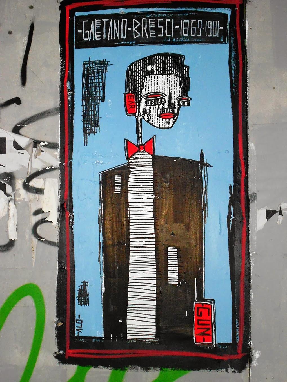 street art gaetano bresci alo artist