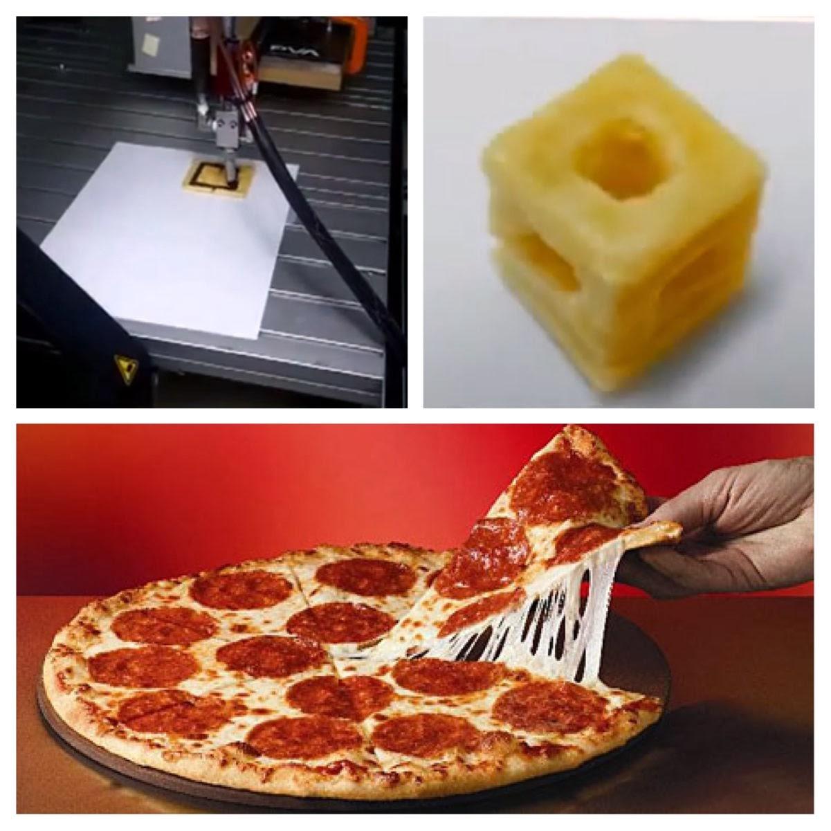 s3d printer pizza nasa - photo #15