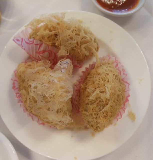 Gold Leaf, Docklands, fried taro dumplings